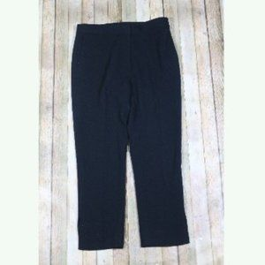 Kate Spade Cropped Straight Leg Pants Ankle